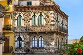 Old style stone Italian house. — Stock Photo