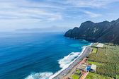 Ocean beach at La Gomera island. Canary islands, Spain — Stock Photo