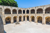 Castle of Templar knights at Rhodes — Stock Photo