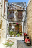 Rhodes old town streets — Stock Photo
