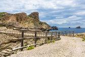 Balearic island pedestrian way — Stock Photo