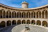 Bellver Castle inner court — Stock Photo