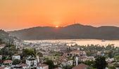 Sundown at Fethiye — Stock Photo
