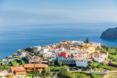 Typical Canary village on the cape of La Gomera island — Stock Photo