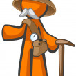 Royalty-Free Stock Photo: Orange Man Dr Livingstone, Explorer and Adventurer