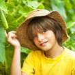 Young farmer — Stock Photo