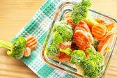 Frozen vegetables — Stock Photo