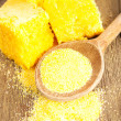 corn bread — Stock Photo