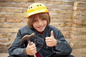 Young Builder — Stock Photo