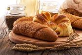Produits de boulangerie frais — Photo