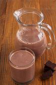 Chocolate milk — Stock Photo