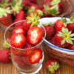 Fresh strawberries — Stock Photo #44987067