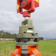 Surveyor's Prism - Stock Photo