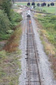 Track-wartung-crew — Stockfoto