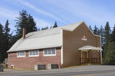 Sala pequena comunidade canadense — Fotografia Stock
