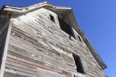 Old and Faded Barn Facade — Stock Photo