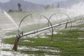 Irrigation System for Farming — Stock Photo
