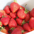 Pail of Strawberries — Stock Photo