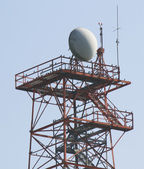 Canadian Military Surveillance Tower — Stock Photo