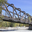 Stock Photo: Old Kettle Valley Railway Bridge