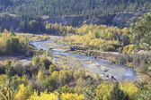 High Angle View of the Kettle Valley Railway Line — Stock Photo