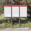 Stock Photo: CanadiRural Mailboxes