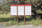 Canadian Rural Mailboxes — Stock Photo