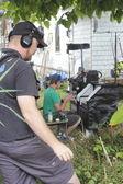 Filme passa em vancouver, colúmbia britânica — Foto Stock