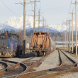 Stock Photo: Railway Yard