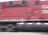 Speeding Train — Stock Photo