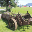 Old Time Farm Machinery — Stock Photo