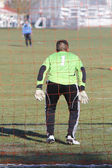 Soccer Goalie — Stockfoto