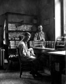 A German Laboratory in 1928 — Stock Photo