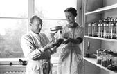 German Scientists in 1930s — Stock Photo