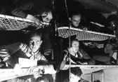 German soldiers in a Bunker in 1939 — Stock Photo
