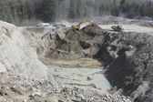 Open Pit Mining — Stock Photo