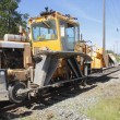 Heavy Duty Rail Repair Equipment — Stock Photo