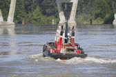 Canadian West Coast Tug Boat — Stock Photo