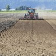 Stock Photo: Ploughing Farm Acreage