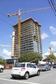 City Condominium Construction — Stock Photo