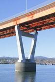 Modern Bridge Support — Stock Photo