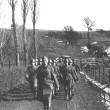 German Troops on  the Seigfried Line — Stok fotoğraf