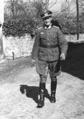 German Nazi Commander — Stock Photo