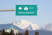 Vancouver Sign — Stock Photo