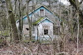 Terk edilmiş evde — Stok fotoğraf