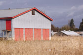 Hay Barn — Stock Photo