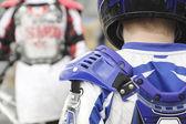 BMX Shoulder Pads — Stock Photo