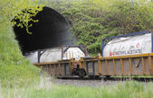 Shipping Dangerous Goods by Rail — Stock Photo