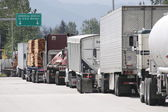 Sumas Truck US Border Crossing — Photo