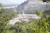 Open Pit Mountain Mine — Foto de Stock